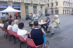 """Presentazione del romanzo """"Oltre le banane"""" in Piazza Foroni"""